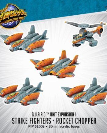 Monsterpocalypse-Protectors-Strike Fighters-Rocket Chopper-The Grumpy Shop