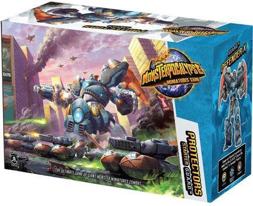 Monsterpocalypse-Starter Set-Protectors-Defender X-The Grumpyshop