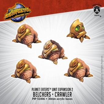 Monsterpocalypse-The Grumpy Shop-Destroyers-Belchers-Crawlers